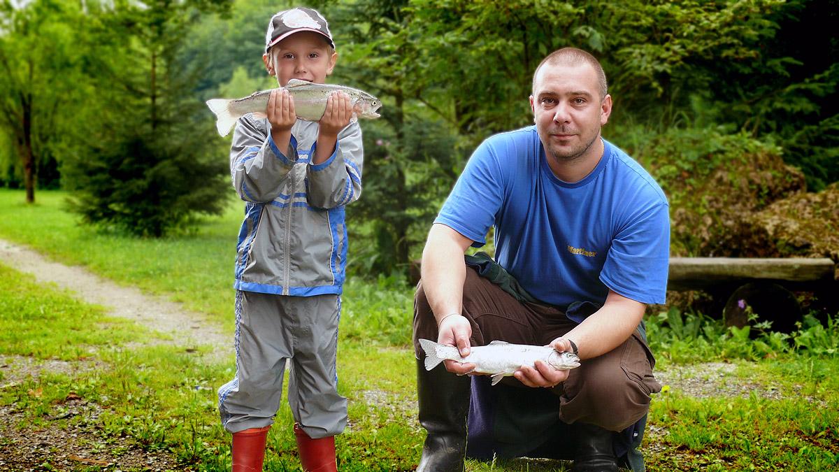 Rybárske potreby a rybolov zvládli aj deti